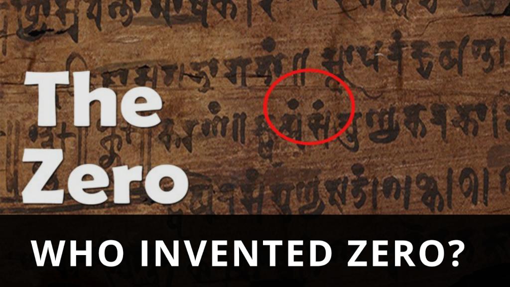 Bakhshalimanuscript and zero