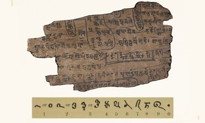 Ancient Indian Mathematical Manuscript of Bakhshali