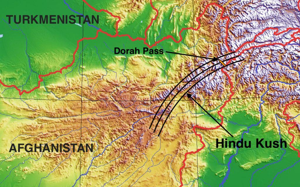 Approximate_Hindu_Kush_range_with_Dorah_Pass