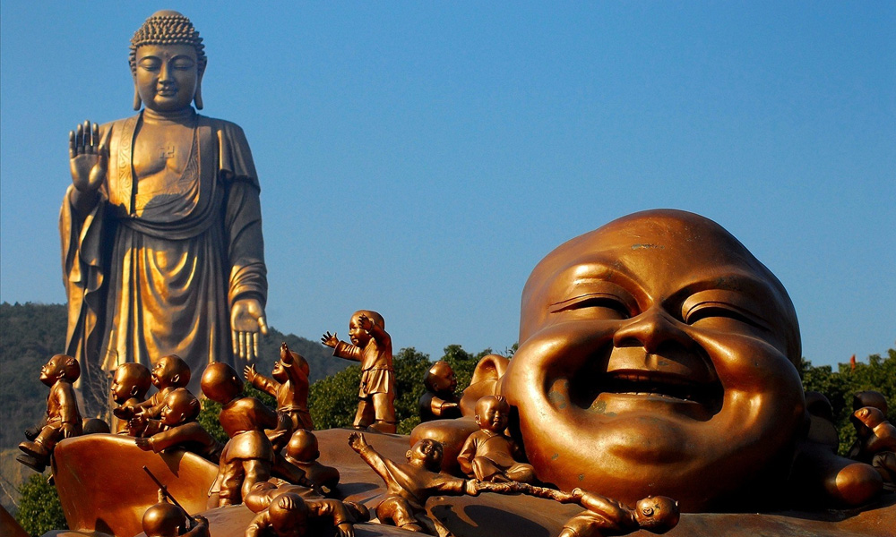 Can Buddha Laugh