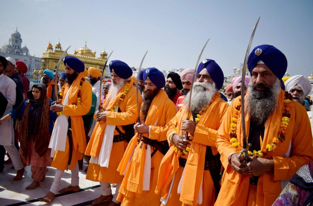 Why orange color is used in Sikhism