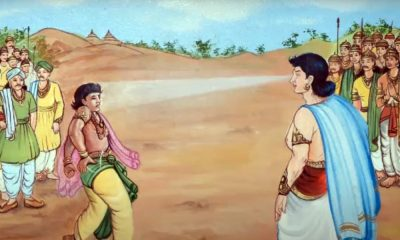 Jain Legend: Bharat and Bahubali, the two mighty brothers