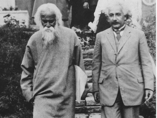 Meeting between Albert Einstein and Rabindranath Tagore