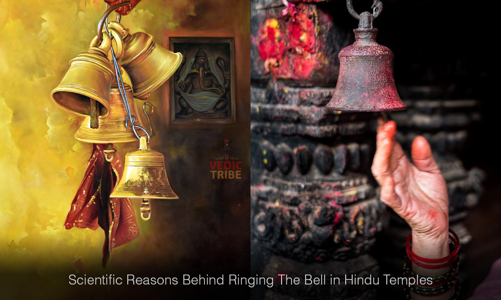 Scientific Reasons Behind Ringing The Bell in Hindu Temples