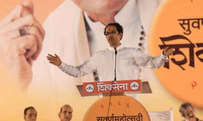 Uddhav Thackeray takes Gaumutra jibe at BJP on Dussehra
