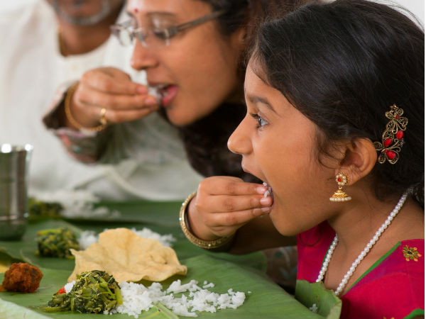 Vedic Science Behind eating with hands