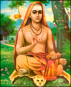 Shri Adi Shankaracharya, known as Bhagavatpada Acharya (the guru at the feet of Lord), apart from refurbishing the scriptures, cleansed the Vedic religious practices of ritualistic excesses and ushered in the core teaching of Vedanta, which is Advaita or non-dualism for the mankind. Shankara restructured various forms of desultory religious practices into acceptable norms and stressed on the ways of worship as laid down in the Vedas.