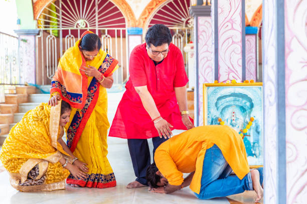 Why Do Indians Touch Feet to Show Respect?