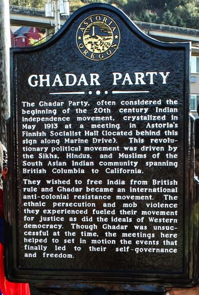 Gadhar Party Members and Martyrs