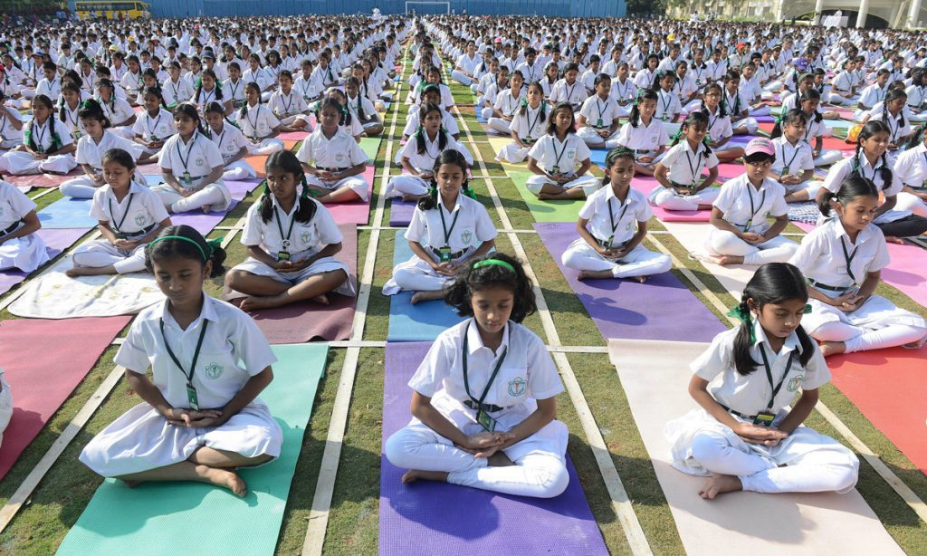 The Yogic Practice of Quiet Time for Children