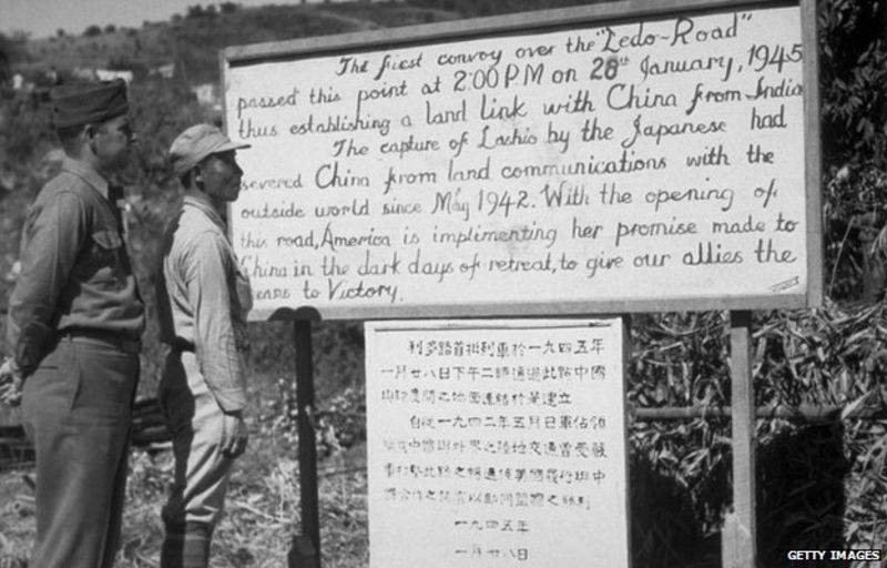 Asian labourers died building the Ledo Road between China and India