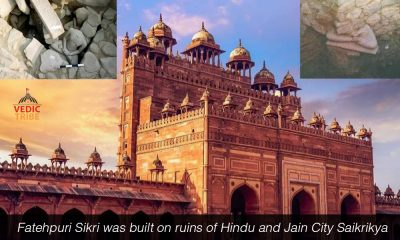 Fatehpuri Sikri was built on ruins of Hindu and Jain City Saikrikya