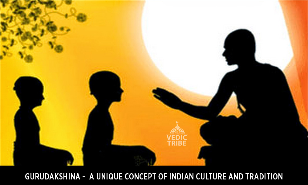 Gurudakshina - A unique concept of Indian culture and tradition