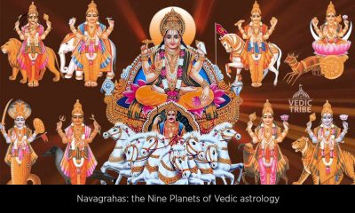 Navagrahas the Nine Planets of Vedic astrology
