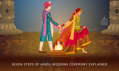 Seven Steps (Seven Pheras) of Hindu Wedding Ceremony Explained