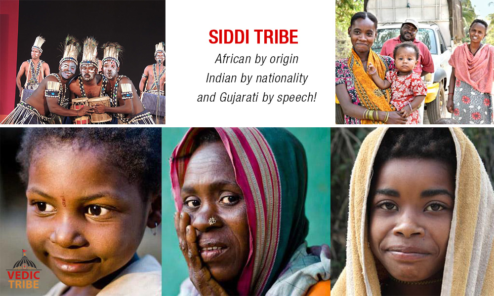 Siddi Tribe - African by origin, Indian by nationality and Gujarati by speech!
