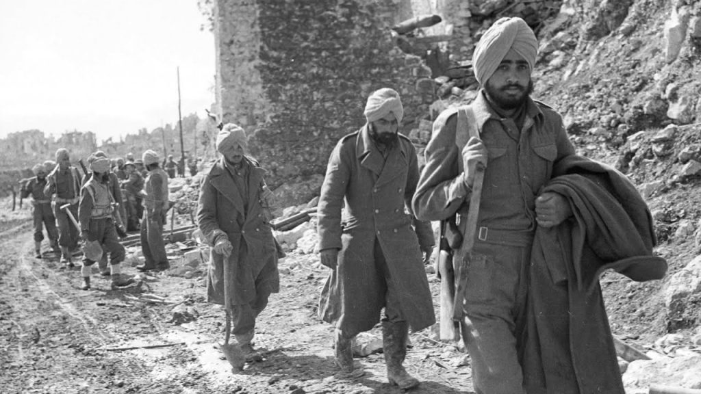 Soldiers from Punjab fought in the WW2