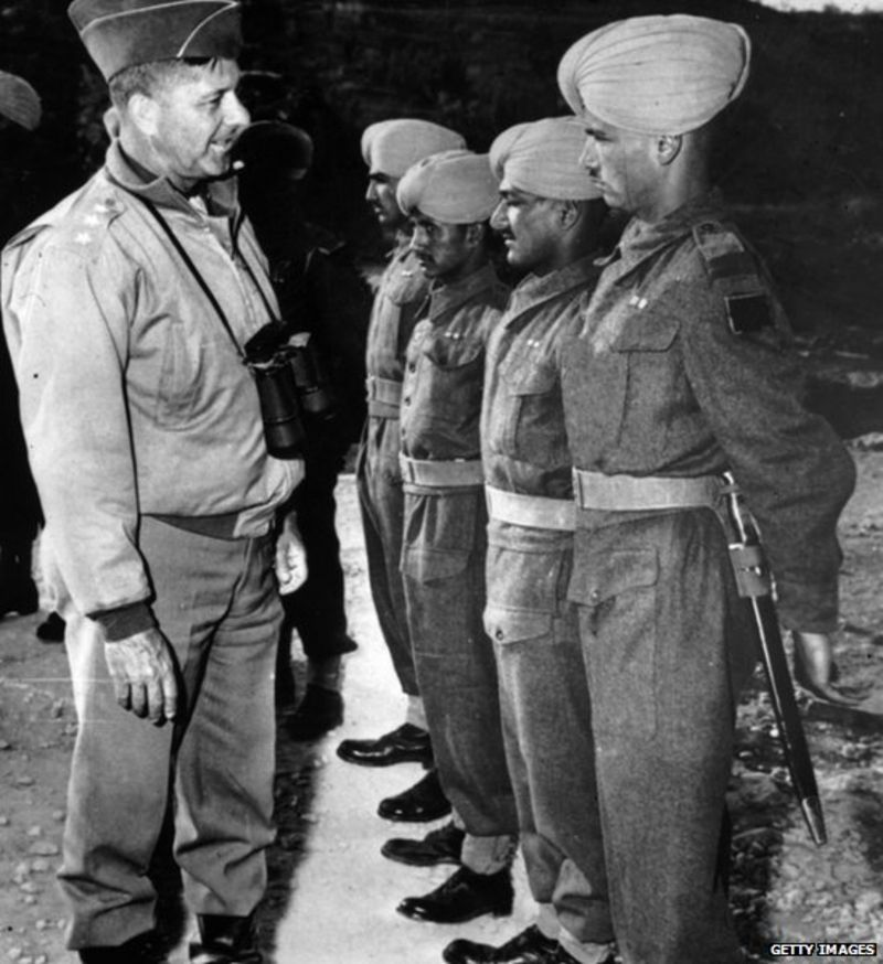 Soldiers from Punjab fought in the war