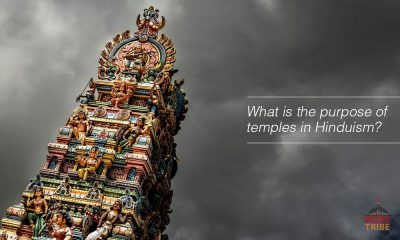 What is the purpose of temples in Hinduism