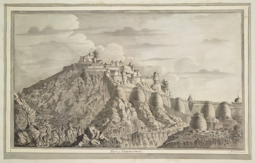The Great Wall of India - Kumbhalgarh, Mewar (UNESCO