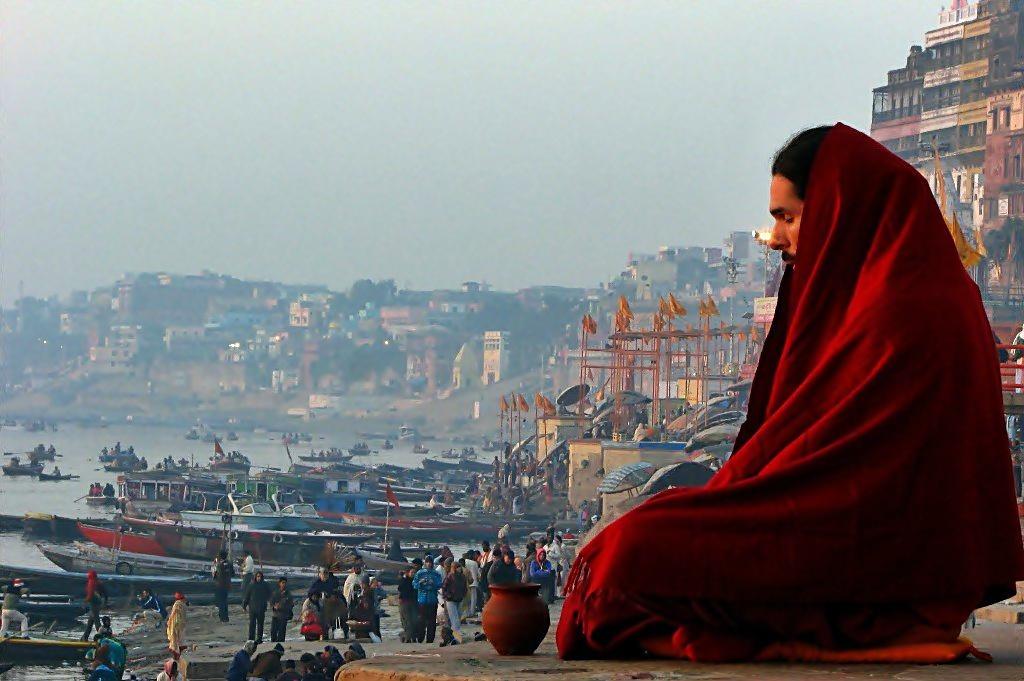meditation at varanasi