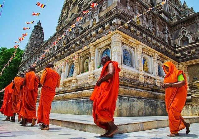 Why do Hindus do Pradakshina or go around the Deity in circles