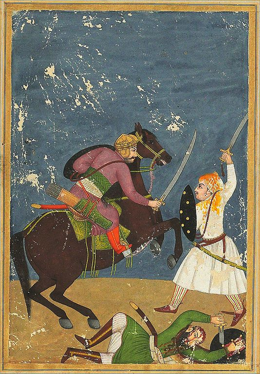 Saka committed by Rajput warrior