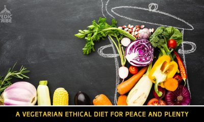 A Vegetarian Ethical Diet for Peace and Plenty