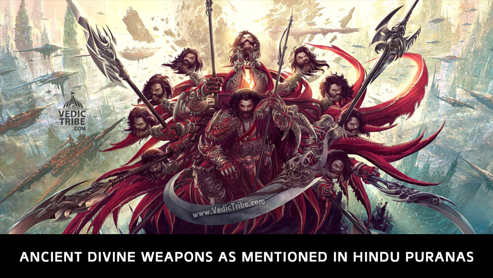 Ancient Divine Weapons as Mentioned in Hindu Puranas
