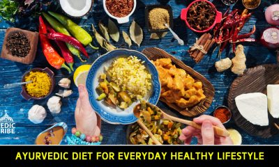 Ayurvedic diet for everyday healthy lifestyle