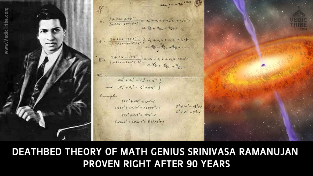 Deathbed Theory of Math Genius Srinivasa Ramanujan Proven Right After 90 Years