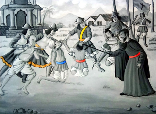 Goa Inquisition : Native Hindus tortured and massacred by Portuguese Christian missionaries