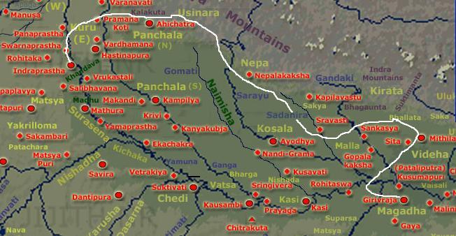 Impact of Magadha Kings on Panchala