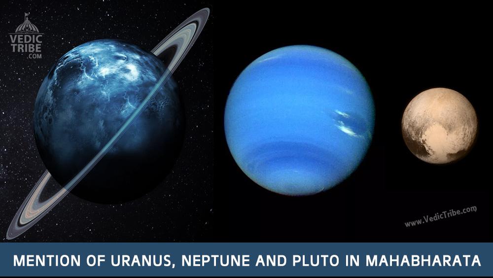 Mention of Uranus, Neptune and Pluto in Mahabharata