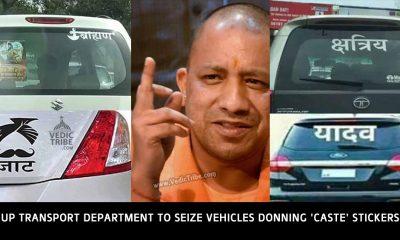 No 'Caste': Uttar Pradesh Transport Department To Seize Vehicles Donning 'Caste' Stickers