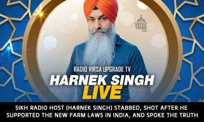 Sikh Radio Host (Harnek Singh) stabbed and shot after he supported the new farm laws in India, in critical condition in New Zealand