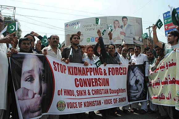 Over 1,000 Pakistani Girls abducted and forcibly converted to Islam every year