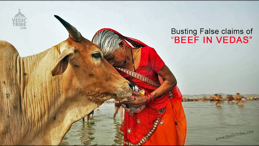 Busting False claims of Beef in Vedas by Hinduphobes