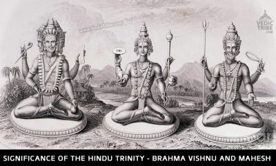 Significance Of The Hindu Trinity - Brahma Vishnu and Mahesh