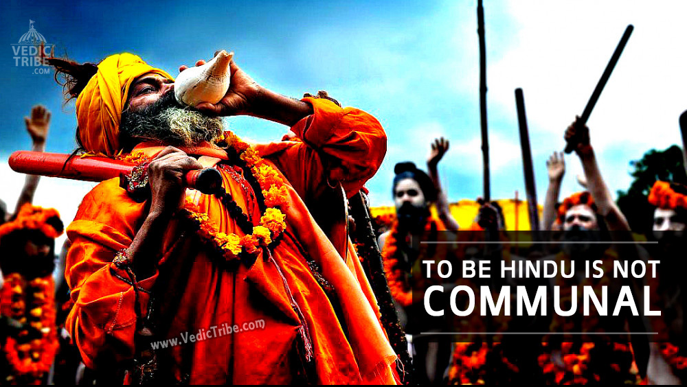 To be Hindu is Not Communal