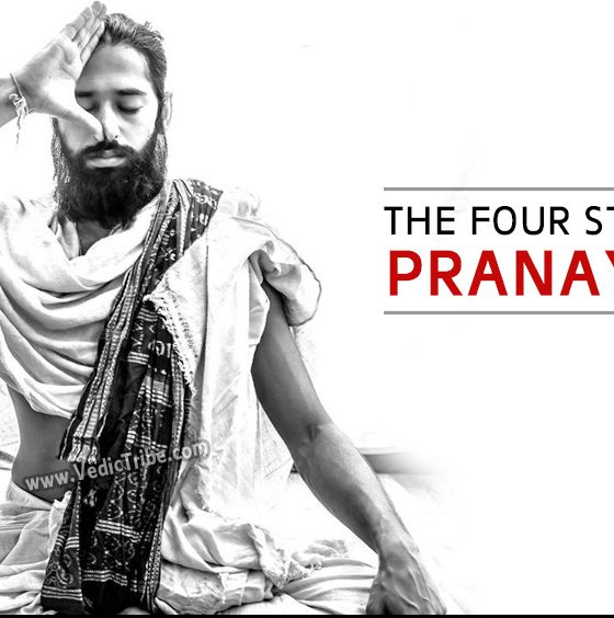 four stages of pranayam