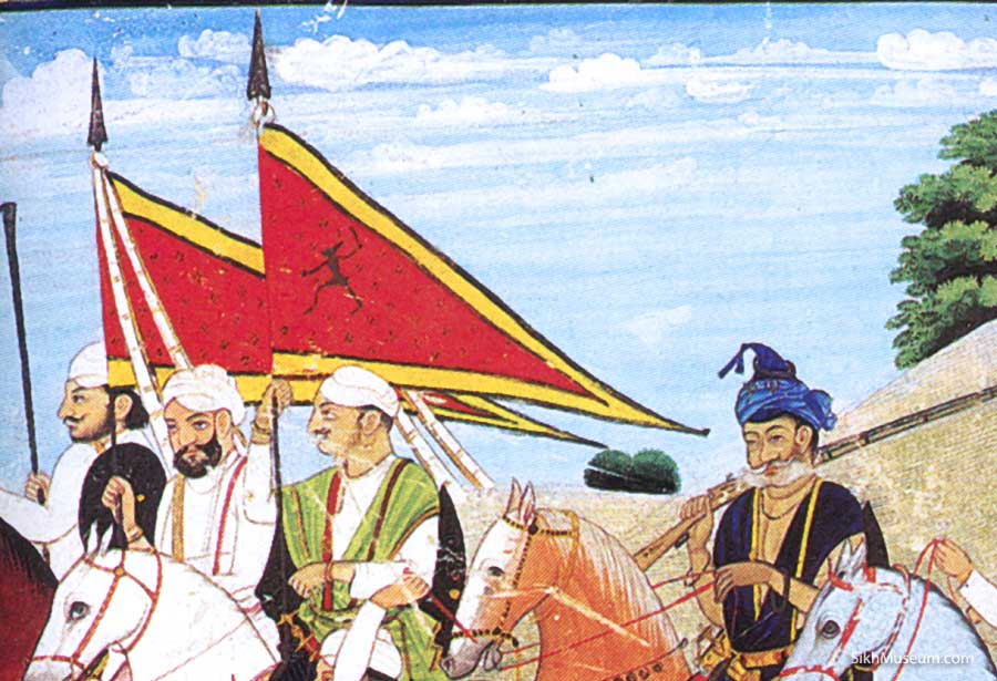 Varahi on sikh flags