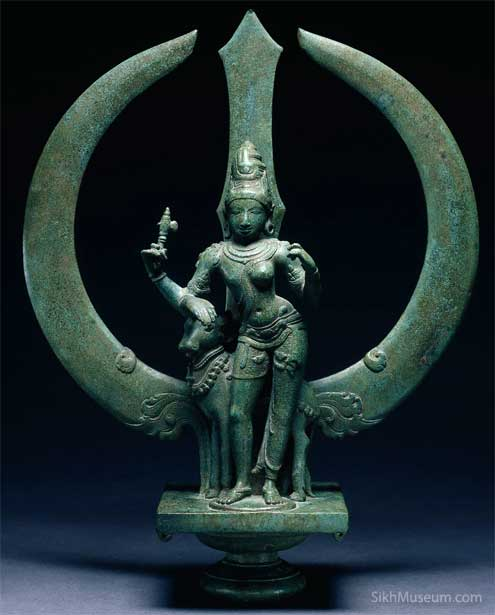 Ardhanarishwar form of Lord Shiva