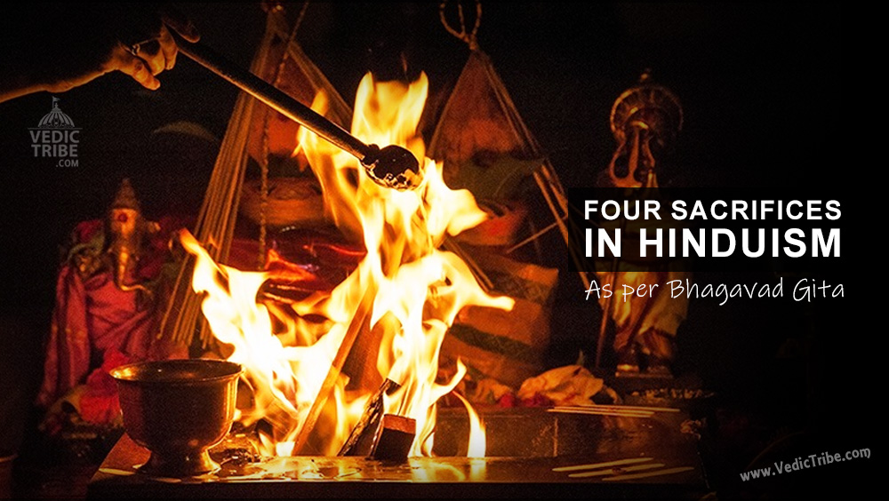 Four Sacrifices in Hinduism