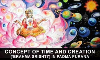 Concept of Time and Creation ('Brahma Srishti') in Padma Purana